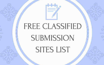 200+ Free Classified Submission Sites List With High PR 2020