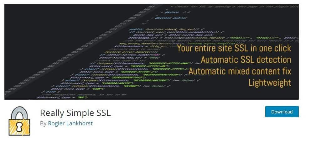 really simple SSL plugin to convert http to https