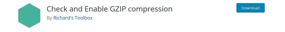 Gzip compression plugin