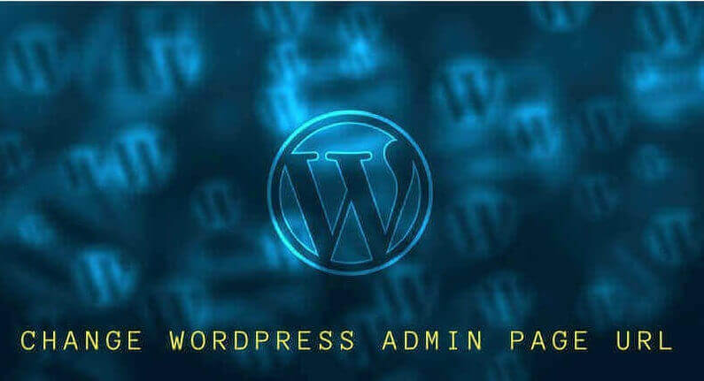 how to change wordpress admin URL