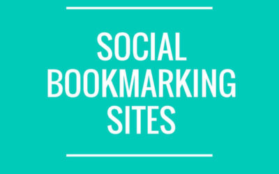 Free Social Bookmarking Sites List With High PR 2020