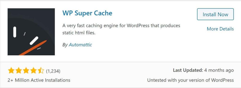 best cache plugin for wordpress