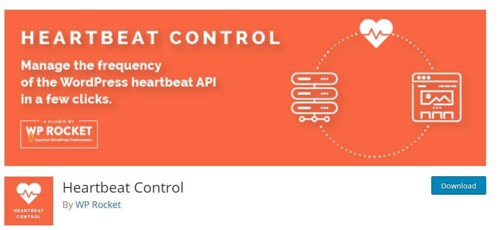 disable heartbeat control plugin in wordpress