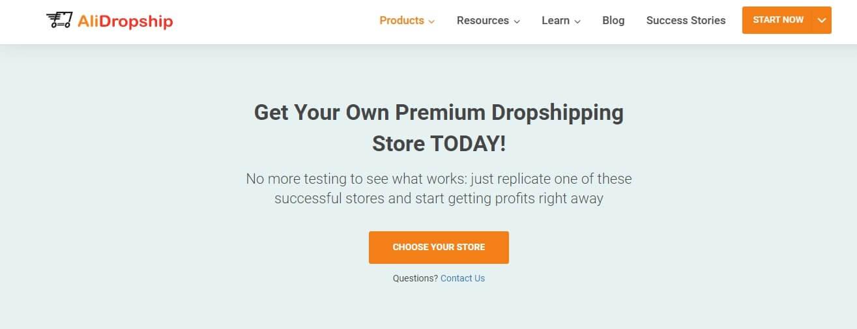 alidropship custom store coupon code