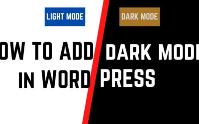 How To Add Dark Mode To Your WordPress Website Using A Plugin | Night Mode Button