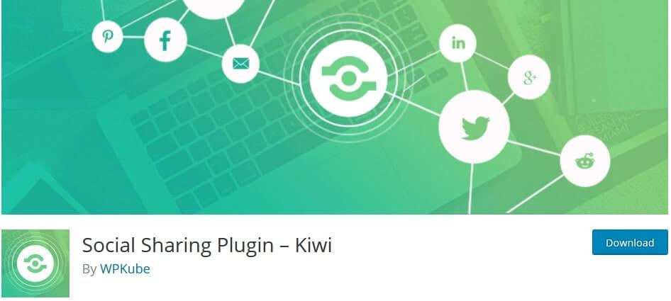 kiwi social sharing plugin