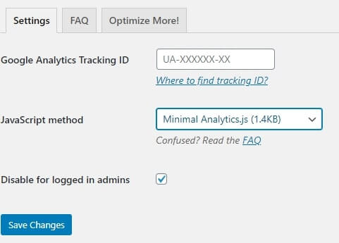 google analytics locally in WordPressgoogle analytics locally in WordPress