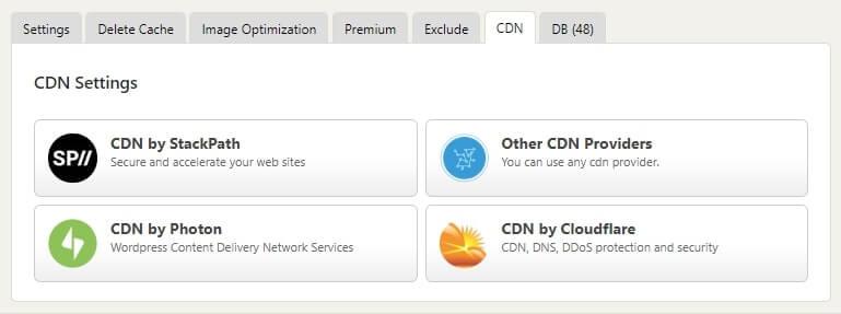 wp fastest cache CDN configuration