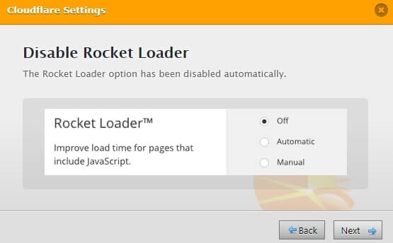wp fastest cache cloudflare rocket loader setting