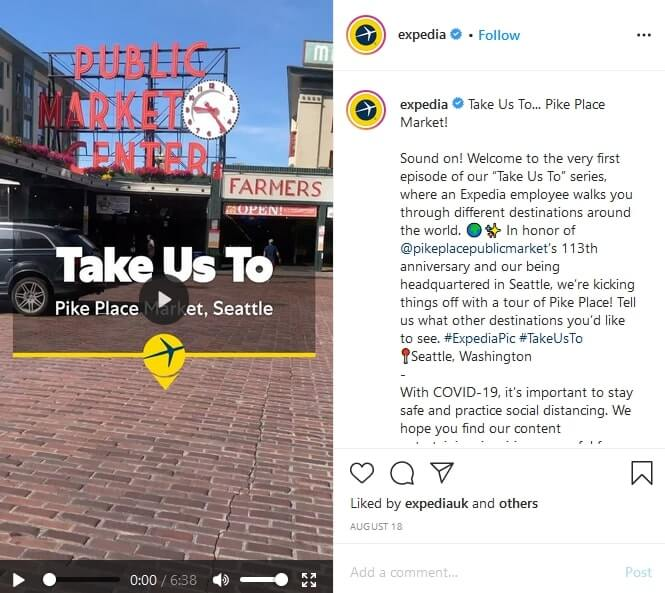 example of long caption in instagram
