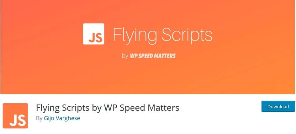 flying script plugin settings