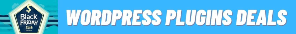 black friday wordpress plugins deals