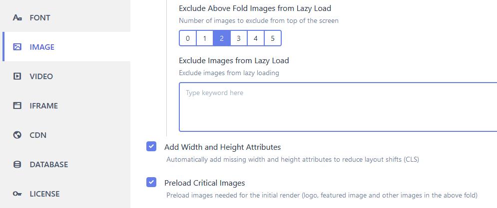autoptimize cumulative layout shift